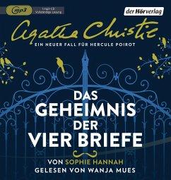 Das Geheimnis der vier Briefe, 1 MP3-CD - Hannah, Sophie; Christie, Agatha