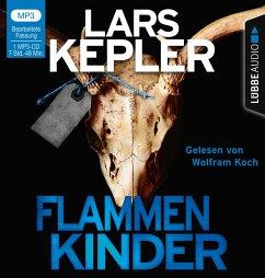Flammenkinder, 1 MP3-CD - Kepler, Lars