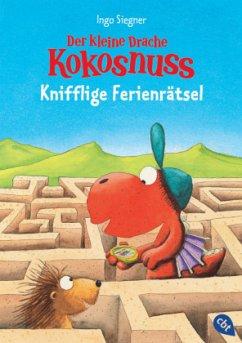 Der kleine Drache Kokosnuss - Knifflige Ferienrätsel - Siegner, Ingo