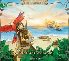 Robinson Crusoe, 4 Audio-CDs - Defoe, Daniel