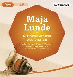Die Geschichte der Bienen, 1 MP3-CD - Lunde, Maja