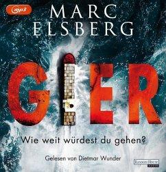 GIER, 2 MP3-CDs - Elsberg, Marc
