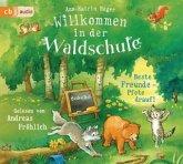 Beste Freunde - Pfote drauf! / Willkommen in der Waldschule Bd.1 (2 Audio-CDs)