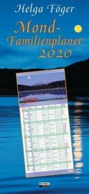 Mond-Familienplaner 2020 - Föger, Helga