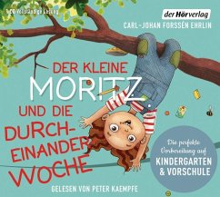 Der kleine Moritz und die Durcheinander-Woche, 1 Audio-CD - Forssén Ehrlin, Carl-Johan