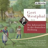 Gert Westphal liest: Die Jahreszeiten in der deutschen Dichtung, 4 Audio-CDs