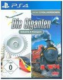 Die Giganten Industrie & Transport, 1 PS4-Blu-ray-Disc