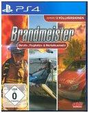 Brandmeister Berufs-, Flughafen- & Werksfeuerwehr, 1 PS4-Blu-ray-Disc