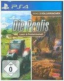 Die Profis Land- & Forstwirtschaft, 1 PS4-Blu-ray-Disc