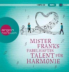 Mister Franks fabelhaftes Talent für Harmonie, 1 MP3-CD - Joyce, Rachel