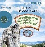 Am Abgrund lässt man gern den Vortritt / Kommissar Jennerwein ermittelt Bd.10 (1 MP3-CDs)