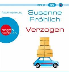 Verzogen, 1 MP3-CD - Fröhlich, Susanne