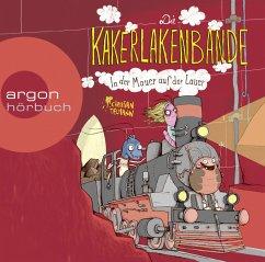 In der Mauer auf der Lauer / Die Kakerlakenbande Bd.2 (1 Audio-CD) - Tielmann, Christian