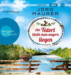 Am Tatort bleibt man ungern liegen / Kommissar Jennerwein ermittelt Bd.12 (2 Audio-CDs, MP3 Format) - Maurer, Jörg