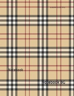 Burberry Gucci Style: Notebook - Notebook Bg