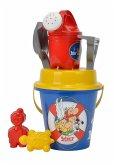 Simba 107114408 - Asterix Eimergarnitur, Sandspielzeug