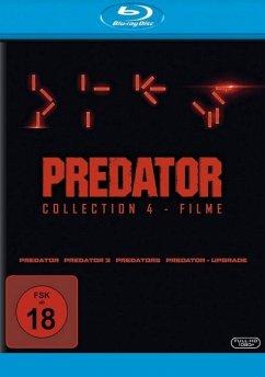 Predator Collection 1-4: Predator, Predator 2, Predators, Predator - Upgrade BLU-RAY Box