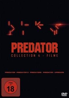 Predator Collection 1-4: Predator, Predator 2, Predators, Predator - Upgrade DVD-Box