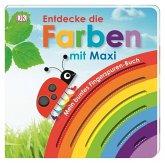 Mein buntes Fingerspuren-Buch. Entdecke die Farben mit Maxi