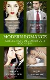 Modern Romance December Books 5-8: Pregnant by the Desert King / The Virgin's Sicilian Protector / Married for His One-Night Heir / Bound by Their Christmas Baby (eBook, ePUB)