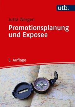 Promotionsplanung und Exposee - Wergen, Jutta