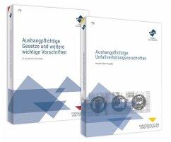 Das Aushang-Paket: Aushangpflichtige Gesetze + Unfallverhütungsvorschriften, 2 Teile - Forum Verlag Herkert GmbH