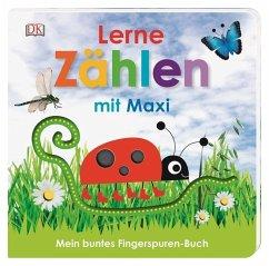 Mein buntes Fingerspuren-Buch. Lerne zählen mit Maxi - Jaekel, Franziska