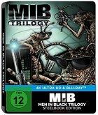 Men In Black Trilogie 4K Ultra HD Blu-ray / Limited Steelbook Edition