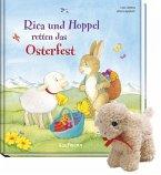 Rica und Hoppel retten das Osterfest mit Stoffschaf