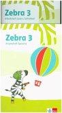 Zebra 3. Paket: Arbeitsheft Lesen/Schreiben und Arbeitsheft Sprache Klasse 3