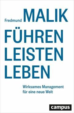 Führen Leisten Leben (eBook, PDF) - Malik, Fredmund