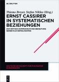 Ernst Cassirer in systematischen Beziehungen (eBook, ePUB)