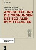 Ambiguität und die Ordnungen des Sozialen im Mittelalter (eBook, PDF)