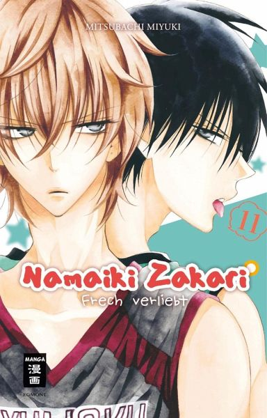 Buch-Reihe Namaiki Zakari - Frech verliebt