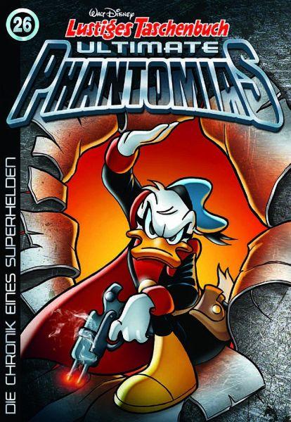 "Comics LTB ULTIMATE PHANTOMIAS Band 27 /"" DIE CHRONIK EINES SUPERHELDEN/"""