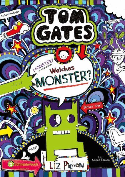 Buch-Reihe Tom Gates von Liz Pichon