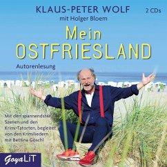 Mein Ostfriesland, 2 Audio-CDs - Wolf, Klaus-Peter