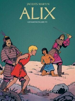 Buch-Reihe Alix Gesamtausgabe