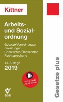 Arbeits- und Sozialordnung - Kittner, Michael