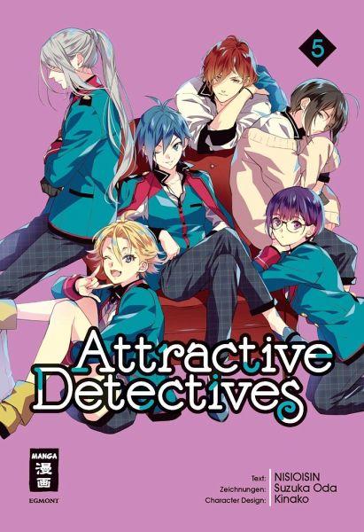 Buch-Reihe Attractive Detectives