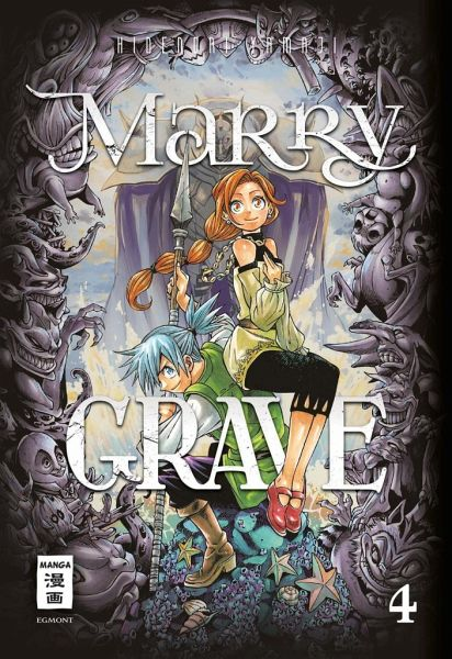 Buch-Reihe Marry Grave