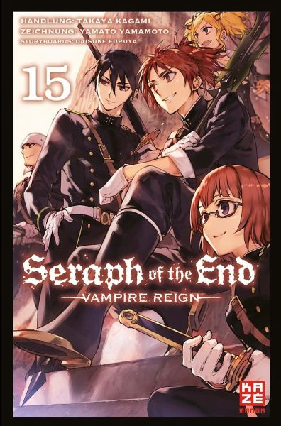 Buch-Reihe Seraph of the End