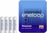 1x4 Panasonic Eneloop Micro AAA 750 mAh Storage Case