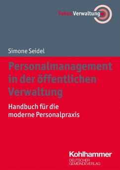 Personalmanagement in der öffentlichen Verwaltung - Seidel, Simone