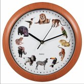 Wanduhr Tiere mit passenden Tierstimmen