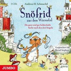 Die ganz und gar heldenhafte Suche nach den drei Siegeln / Snöfrid aus dem Wiesental Bd.4 (3 Audio-CDs) - Schmachtl, Andreas H.