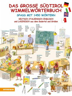 Das große Südtirol-Wimmelwörterbuch - Bucik, Natasa; Bucik, Kaja