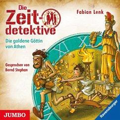 Die goldene Göttin von Athen / Die Zeitdetektive Bd.40 (1 Audio-CD) - Lenk, Fabian