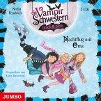 Nachtflug mit Oma / Die Vampirschwestern black & pink Bd.5 (2 Audio-CDs)