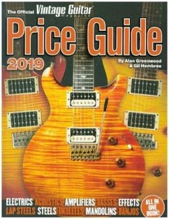 The Official Vintage Guitar Magazine Price Guide 2019 - Greenwood, Alan; Hembree, Gil
